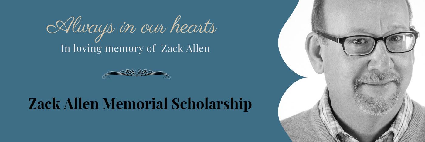 zack allen memorial scholarship